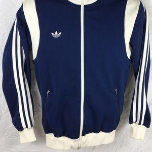 Adidas Jackets Coats Vintage 80s Trefoil Track Jacket Japanese